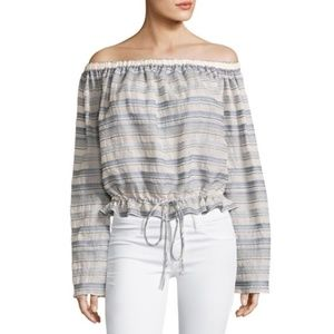 Theory Odettah Off The Shoulder Top
